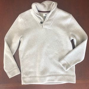 Old navy sweater boys youth Large beige cozy!